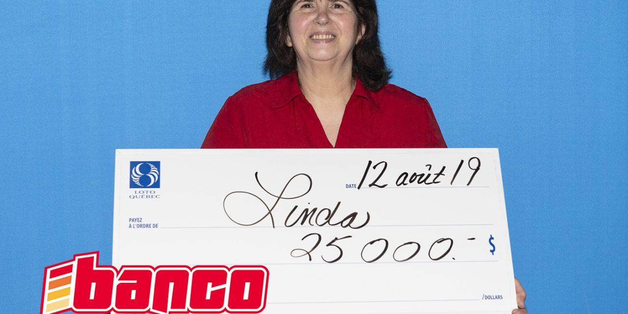 25 000 $ : une deuxième visite aux bureaux de Loto-Québec pour une résidente de Lanaudière grâce au Banco