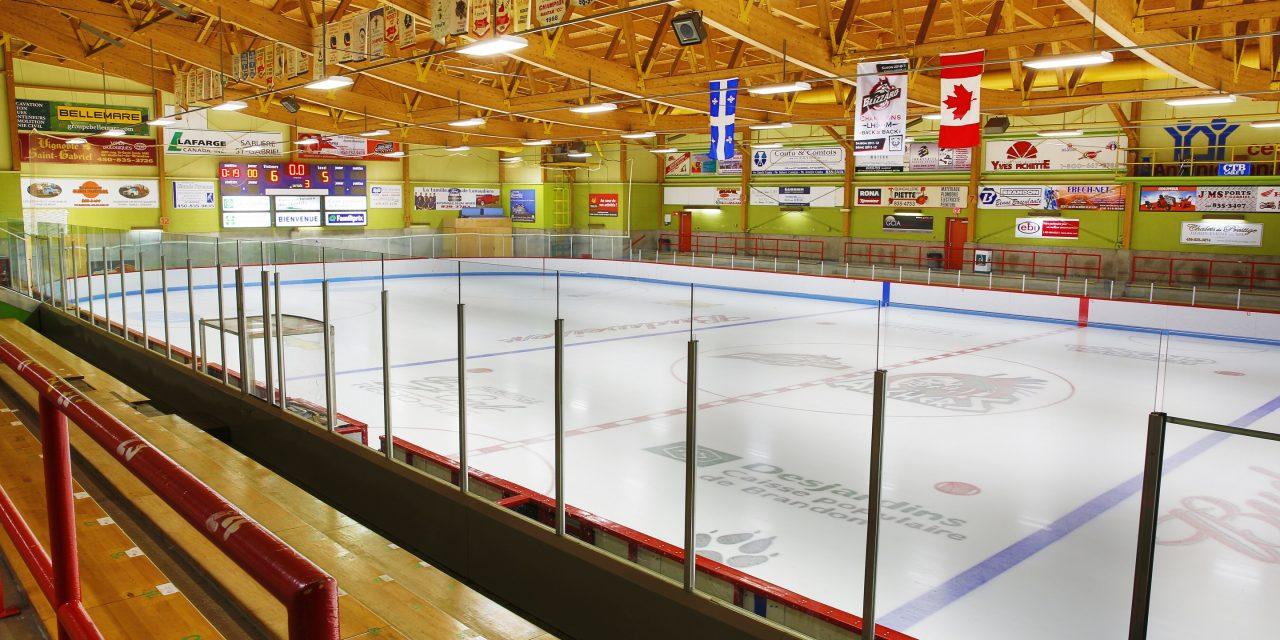 Tarif préférentiel pour la location de la patinoire de l'aréna Familiprix!