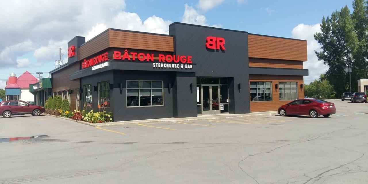 Un nouveau BÂTON ROUGE STEAKHOUSE & BAR à Joliette