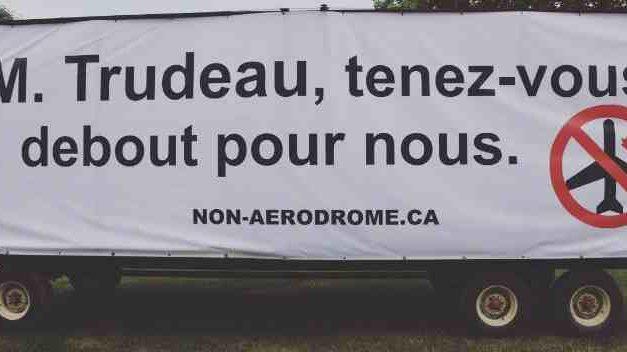 Les citoyens de Saint-Roch-de-l'Achigan rejettent massivement le projet d'aérodrome