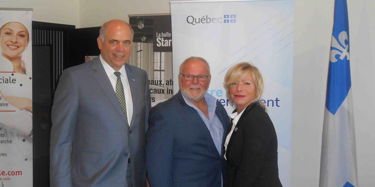 Programme FAAR : près de 2,2 M$ pour cinq projets dans Lanaudière