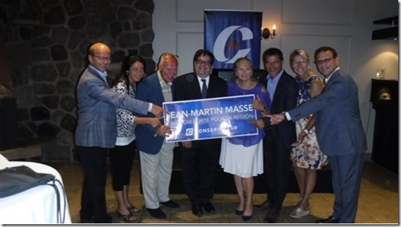 Jean-Martin Masse lance officiellement sa campagne