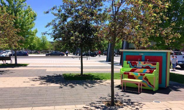 Le piano public de Joliette, au diapason de grandes villes!