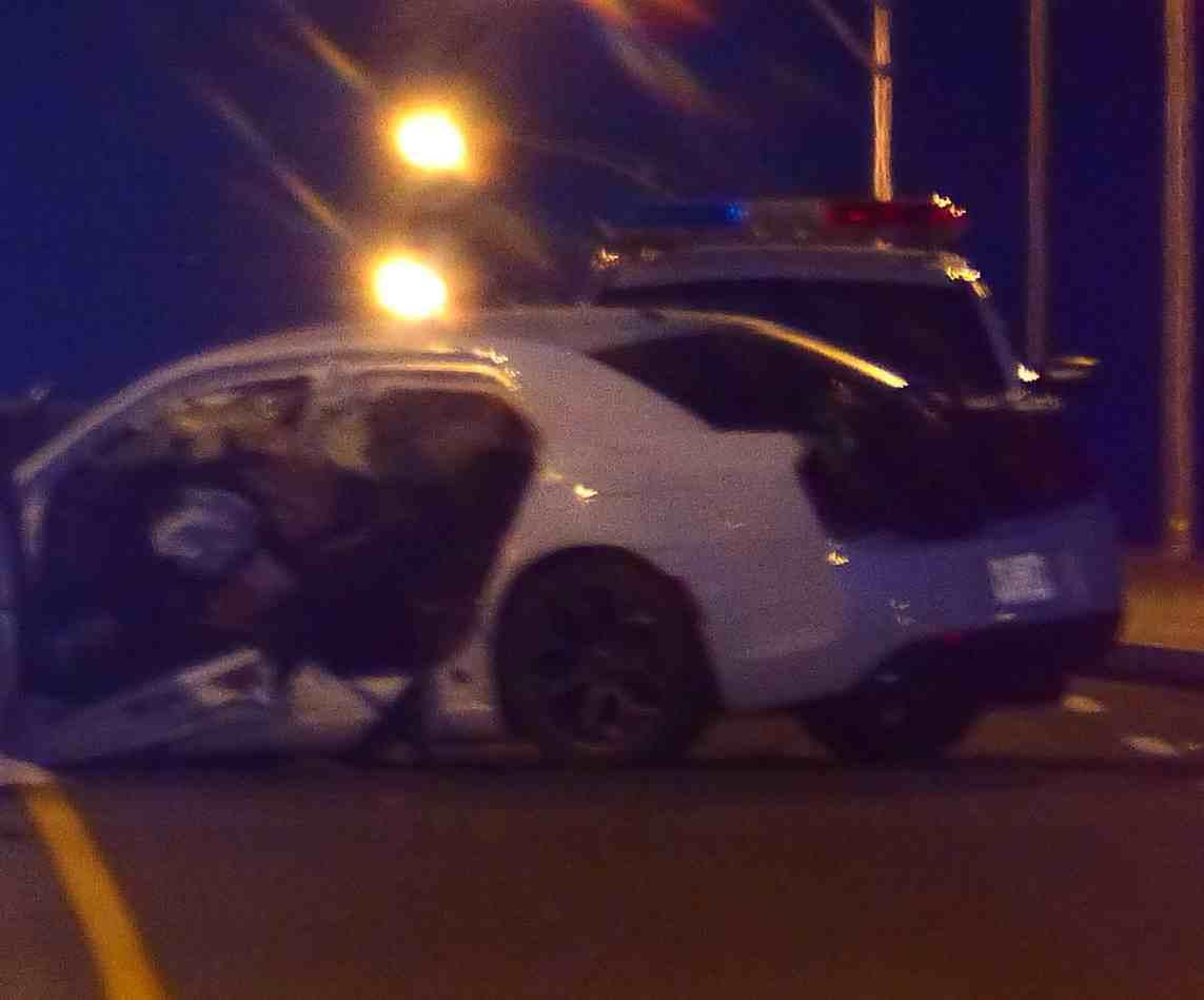 Joliette, accident, poteau, autoroute 31