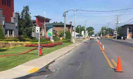 Fuite de gaz à Saint-Charles-Borromée
