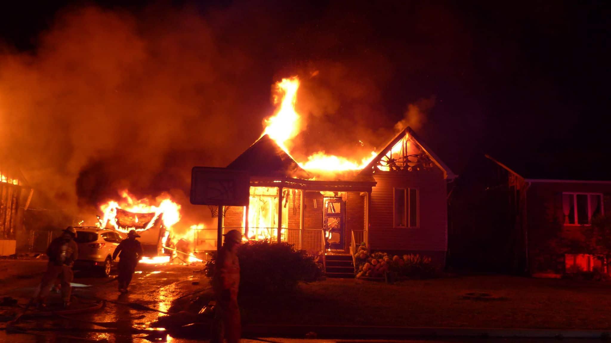Saint-Paul, résidences, incendie, rue Bourgeois