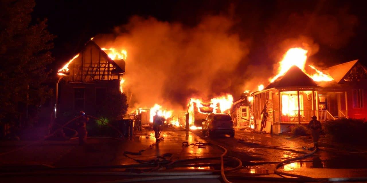 Saint-Paul : deux résidences détruites par un incendie