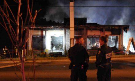 Sainte-Julienne : le restaurant Rose détruit par un incendie suspect