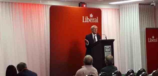 Michel Bourgeois, investiture, Parti Libéral du Canada, Joliette