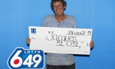Un Lanaudois remporte une coquette somme au Lotto 6/49