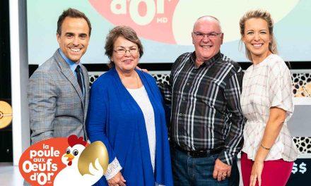59 000 $ : La Poule aux œufs d'or fait le bonheur d'une Mélanienne et d'un Charlois