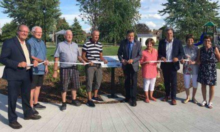 Inauguration du parc Jean-Louis-Poulette
