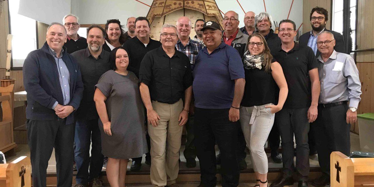 Une entente de fraternité émerge entre le conseil des Atikamekw de Manawan et la MRC de Matawinie