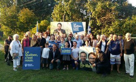 Élections fédérales:Le chef du Bloc Québécois de passage à Joliette