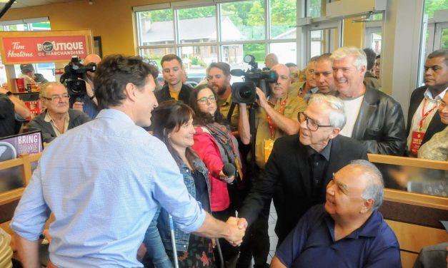 Le Premier Ministre du Canada de passage dans Lanaudière