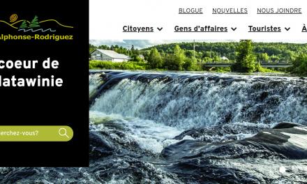 Un tout nouveau site Internet actuel et épuré pour la municipalité de Saint-Alphonse-Rodriguez