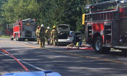 Trois blessés dans une collision frontale à Lanoraie