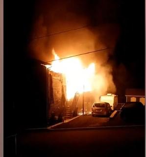 Ville Saint-Gabriel : une résidence ravagée par un incendie d'origine inconnue
