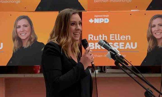 Une campagne d'idées pour Ruth Ellen Brosseau