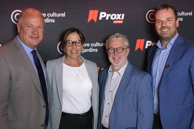 Éclatant succès pour le lancement de la saison 2019-2020 du Centre Culturel Desjardins