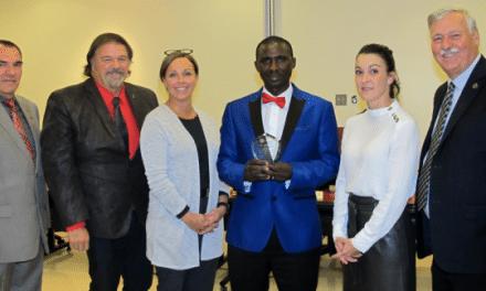 Une mention d'honneur pour Alex Nzambimana