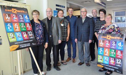 Le Comité des usagers et la Direction du CISSS de Lanaudière lancent la campagne «Il était 12 droits»