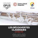 Lancement de la 27e saison des Concerts Opus 130