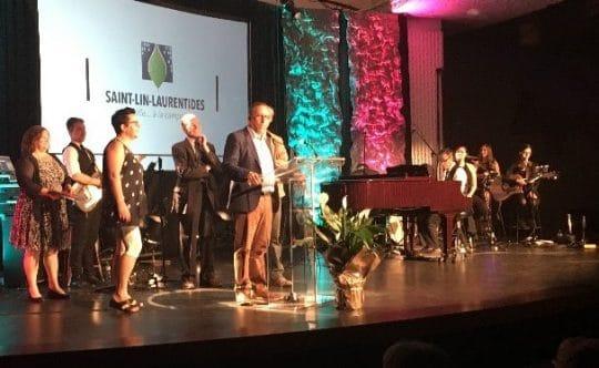 La ville de St-Lin-Laurentides et l'école primaire de l'Aubier, lauréats de deux prix aux Grands Prix Desjardins de la culture de Lanaudière