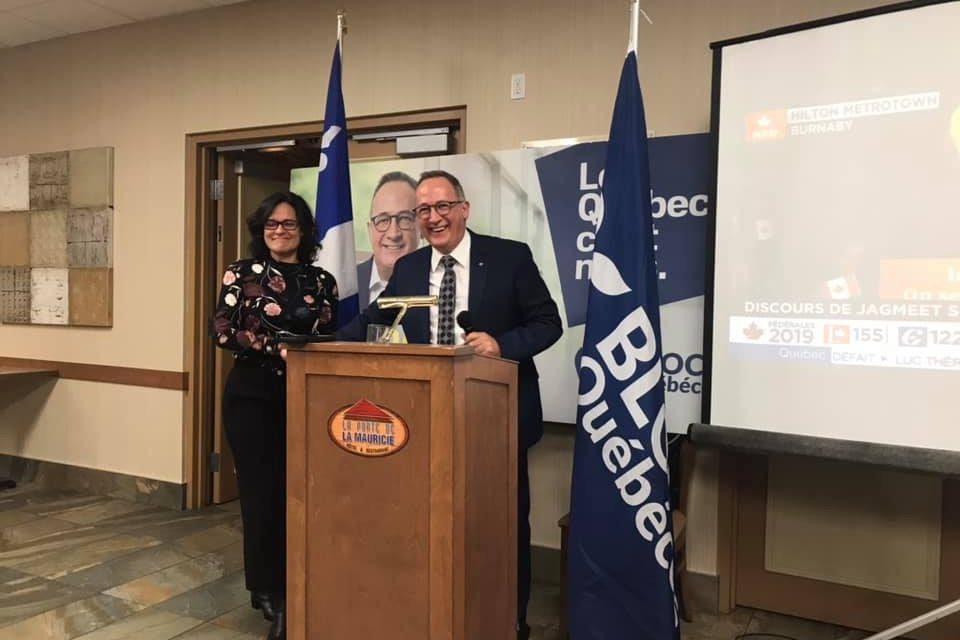 «C'est un sentiment de fierté incroyable» Yves Perron, nouveau député du Bloc Québécois dans Berthier-Maskinongé