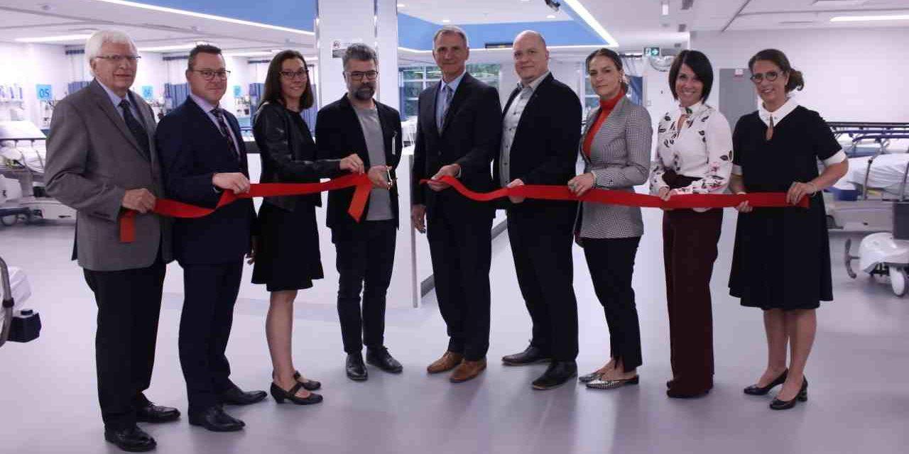 La toute nouvelle Unité d'endoscopie est inaugurée au Centre hospitalier De Lanaudière!