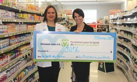 10e édition de la campagne AIMEZ VOUS au profit de la Fondation pour la Santé du Nord de Lanaudière!