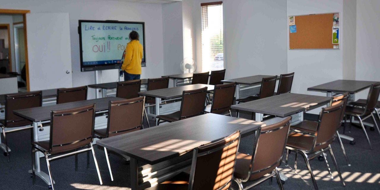 Inauguration des nouveaux locaux et de la salle technologique du Centre d'alphabétisation populaire de la Matawinie-Est