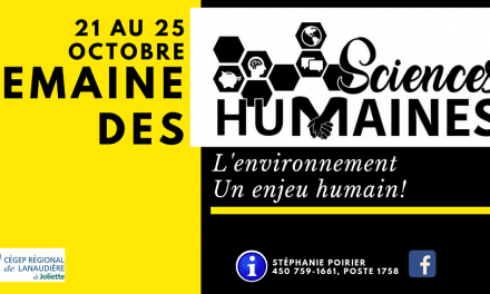 Une Semaine des sciences humaines qui se démarque au Cégep à Joliette