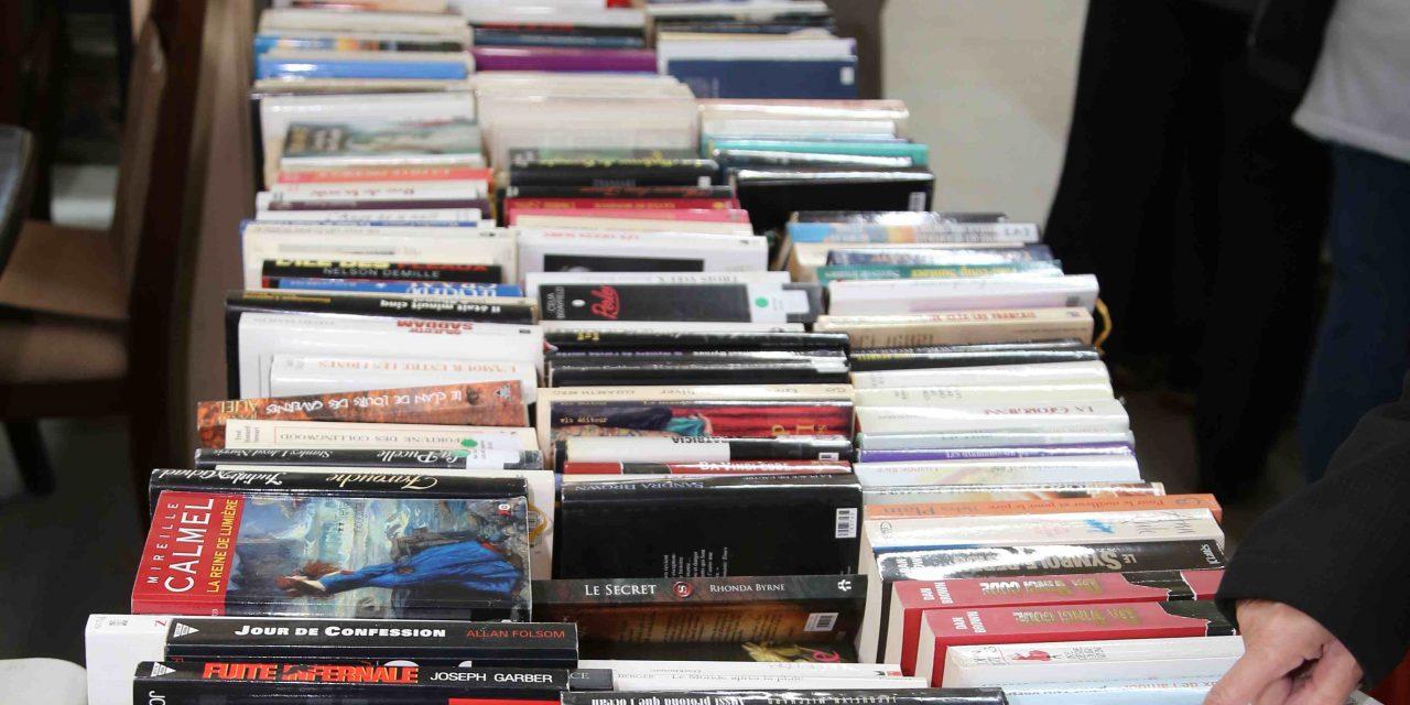 La méga vente de livre aux magasins de la Société Saint-Vincent de Paul de Joliette revient le 1er et 2 novembre
