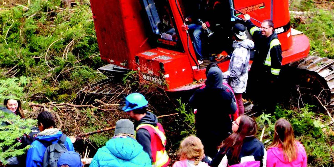 L'Association Forestière de Lanaudière attend entre 300 et 400 jeunes pour viens vivre la forêt