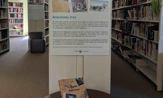 L'exposition Anecdotes d'ici en tournée!