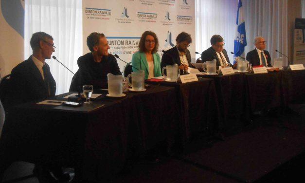 Comté de Joliette : Les candidats débattent devant la Chambre de Commerce du Grand Joliette