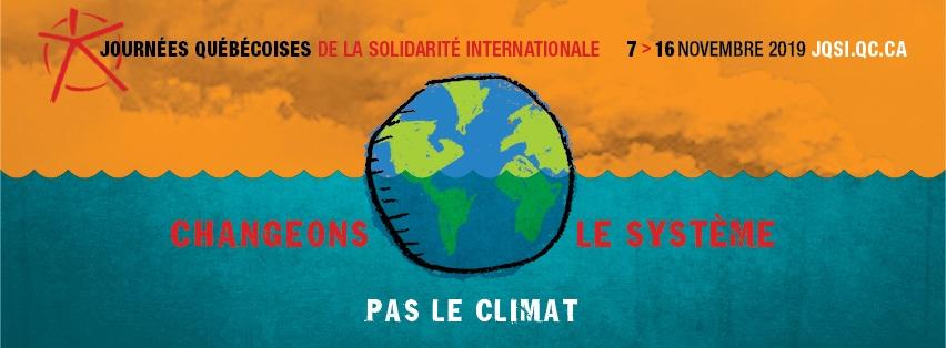 Vingt-troisième édition des Journées québécoises de la solidarité internationale