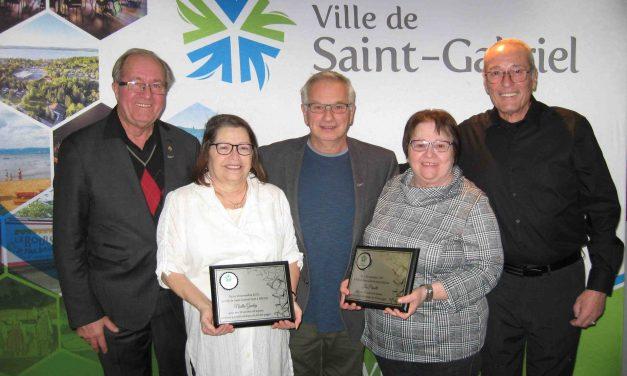 La Ville de Saint-Gabriel souligne les 30 ans de service de deux collaboratrices!