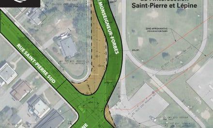Fermeture du chantier de la rue Saint-Pierre Sud