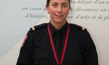 Saint-Alphonse-Rodriguez : nomination d'une nouvelle directrice adjointe au service de Sécurité incendie