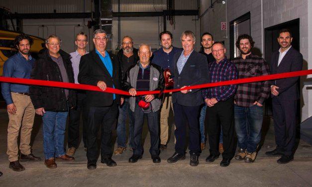 EBI inaugure son nouvel atelier mécanique