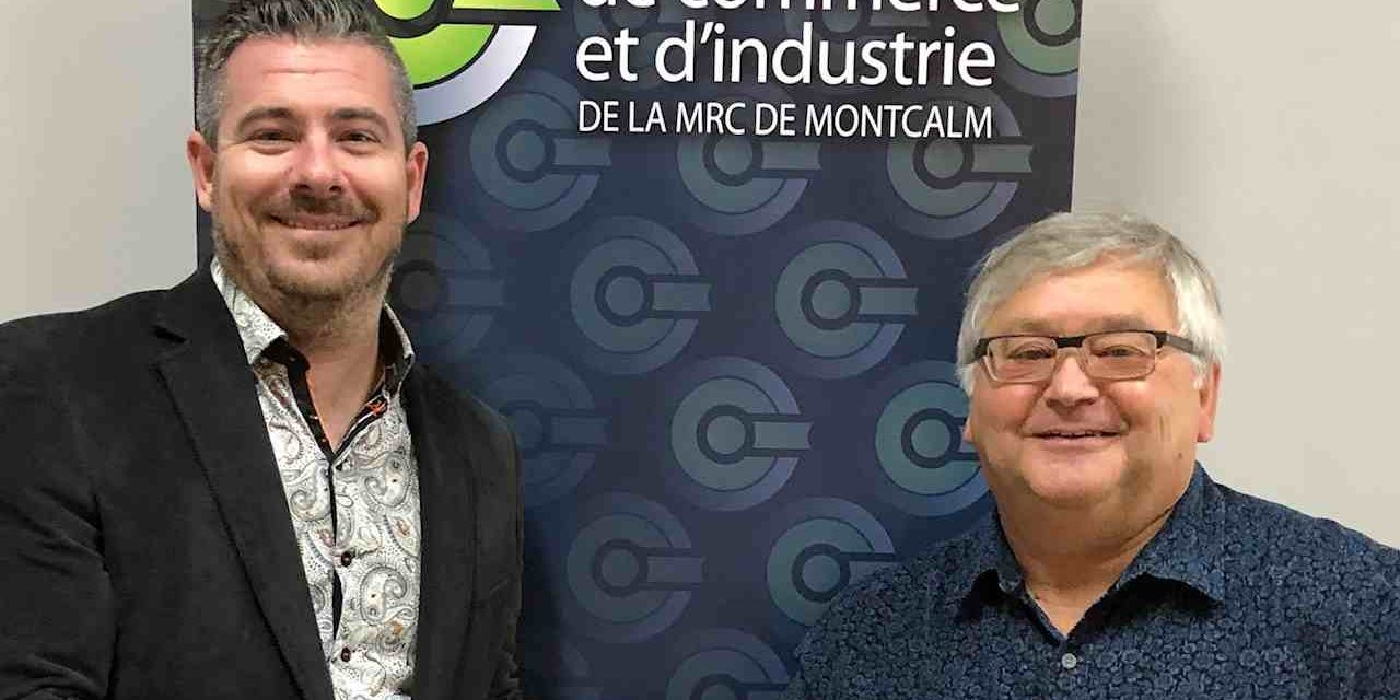 Un nouveau président à la chambre de commerce et d'industrie de la MRC de Montcalm