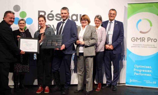 La MRC de Joliette récompensée pour sa performance en gestion des matières résiduelles