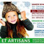 Marché de Noël de Saint-Calixte : Spectacle, Père Noël et idées cadeaux!