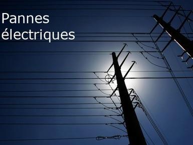 Le vent cause plusieurs pannes électriques