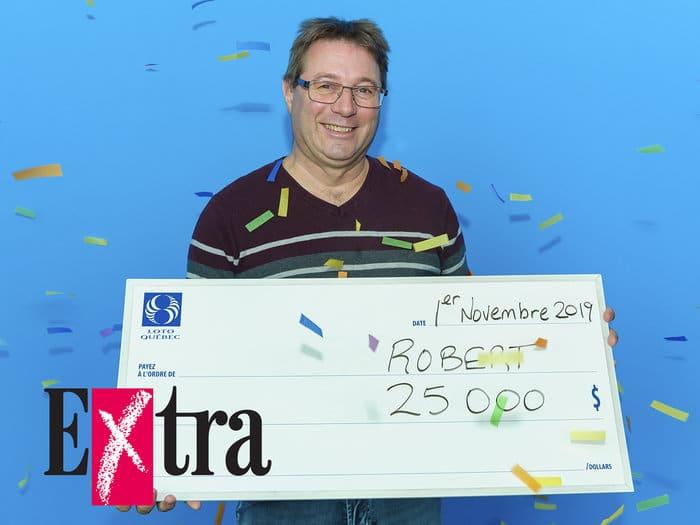Extra : un résident de Lanaudière s'enrichit de 25 000 $
