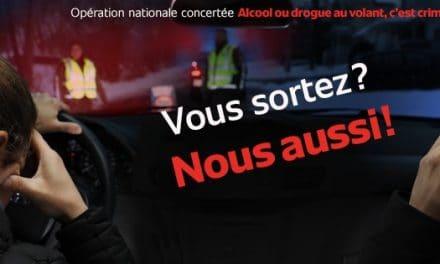 Lancement de l'opération nationale concertée ALCOOL ou DROGUE AU VOLANT, C'EST CRIMINEL !