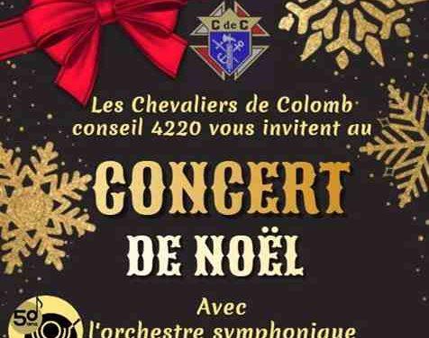 Concert de Noël avec l'orchestre symphonique des jeunes de Joliette