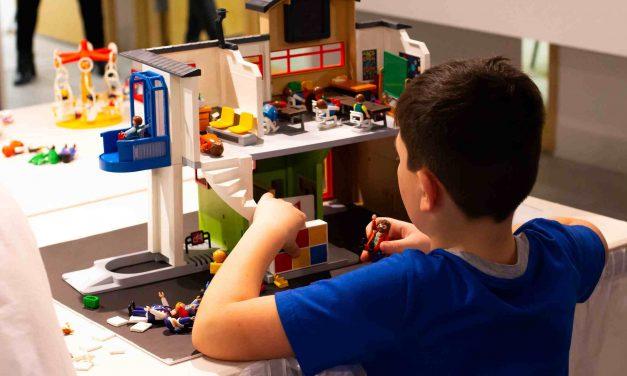 Plus de 700 visiteurs en une semaine pour l'exposition Playmobil au Centre des arts et des loisirs Alain-Larue de Notre-Dame-des-Prairies